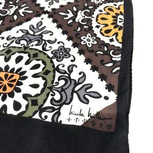 Nicole Miller Accessories - Nicole Miller Studio 100% Silk Scarf Oblong